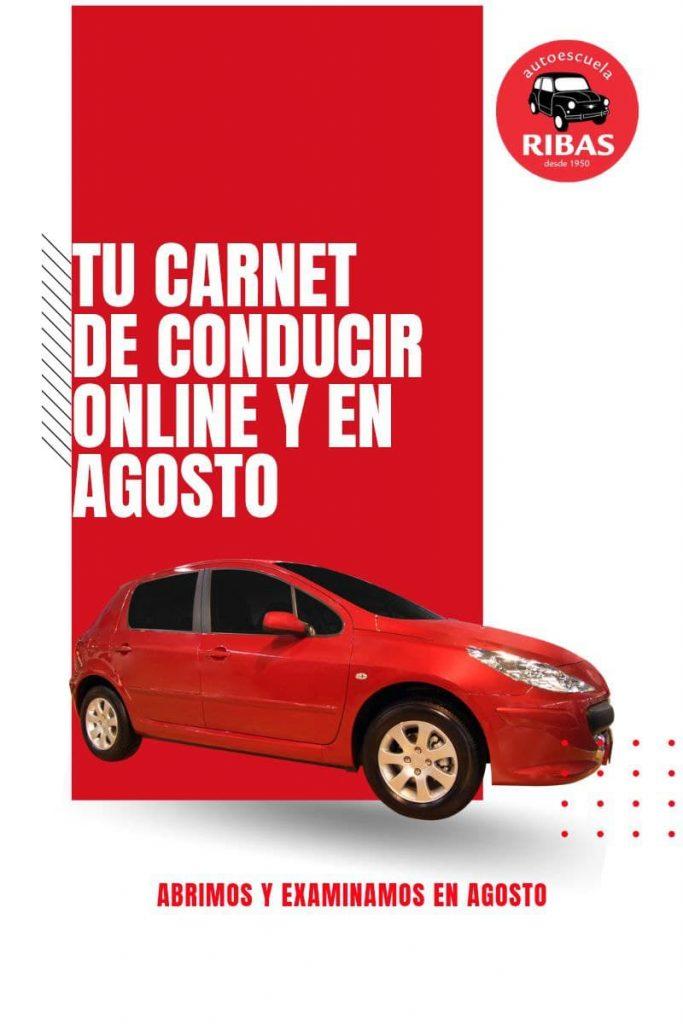 Carnet online y en agosto