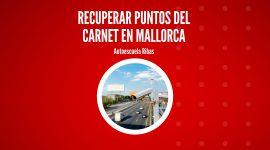 Recuperar puntos del carnet en Mallorca